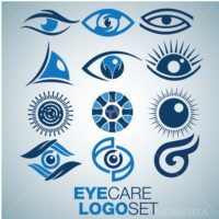 eye care logo set