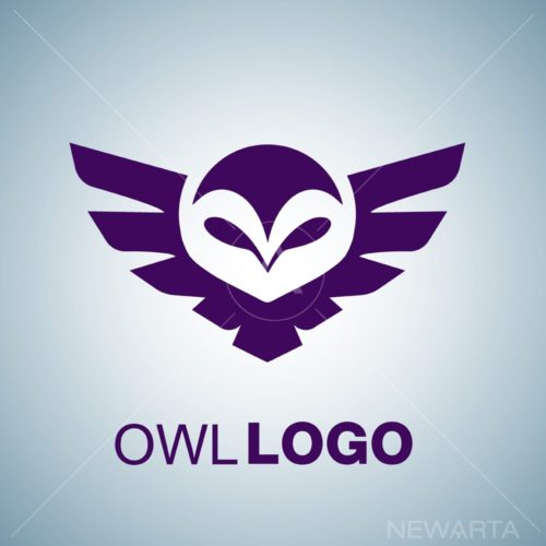 owl logo free vector download