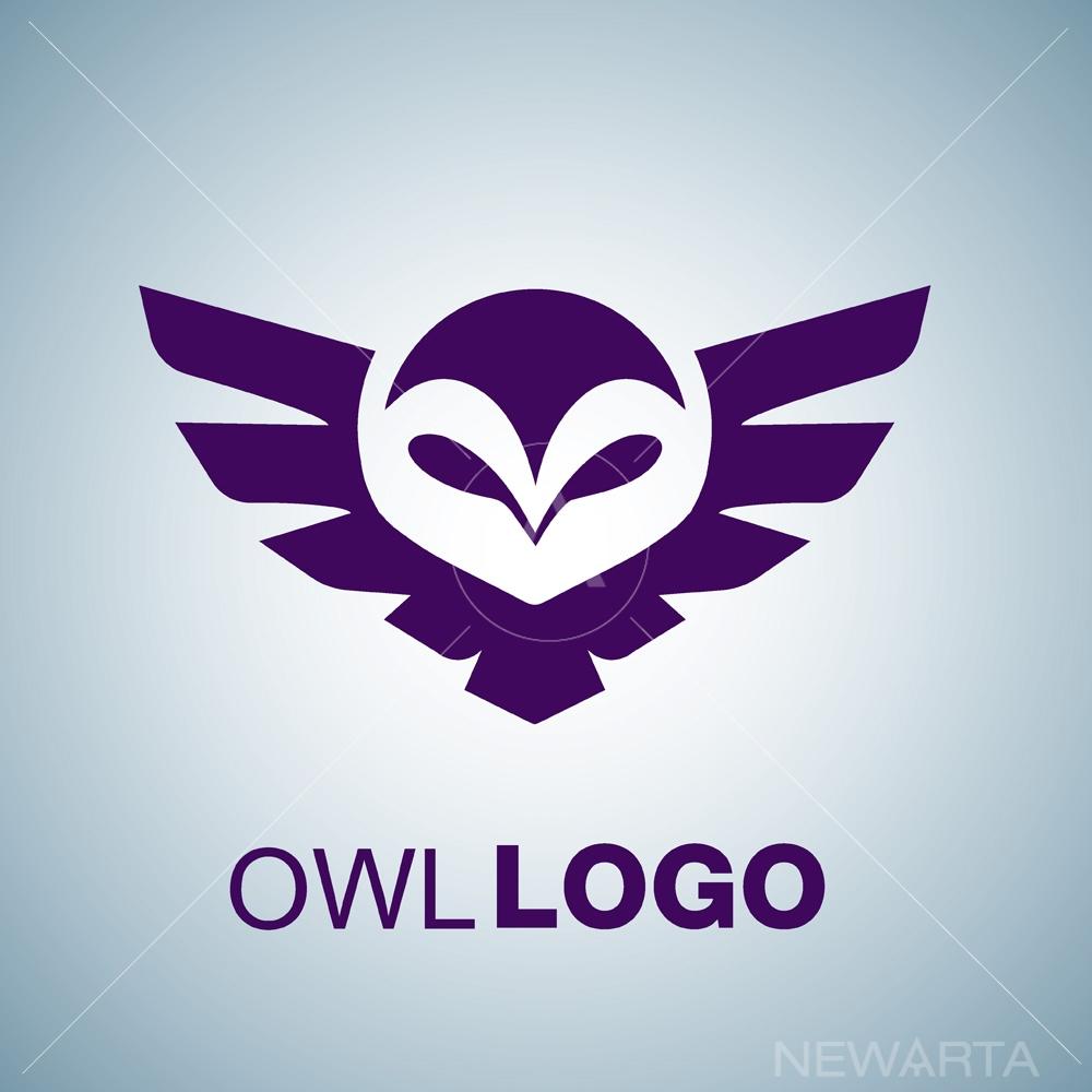owl logo 1 free vector newarta