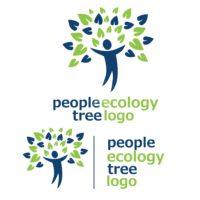 people ecology tree logo 10