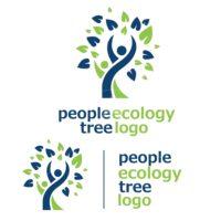 people ecology tree logo 3