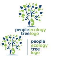 people ecology tree logo 4