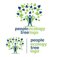 people ecology tree logo 5