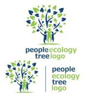 people ecology tree logo 6