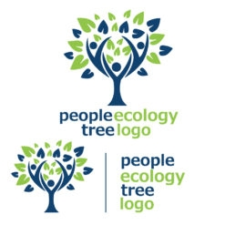 people ecology tree logo