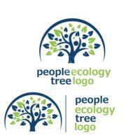 people ecology tree logo 8
