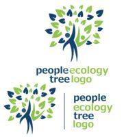 people ecology tree logo 9