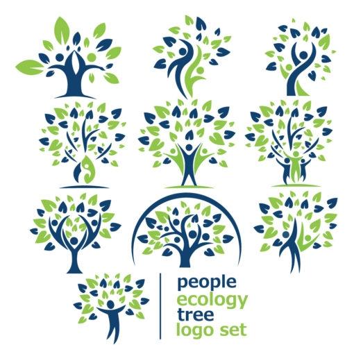 people ecology tree logo