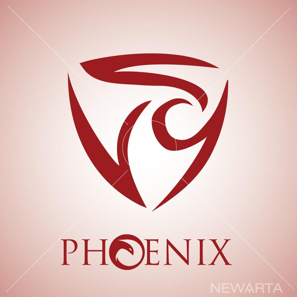 Creative Phoenix Logo Concept And Symbols Newarta