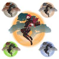 female ninja character 2-01