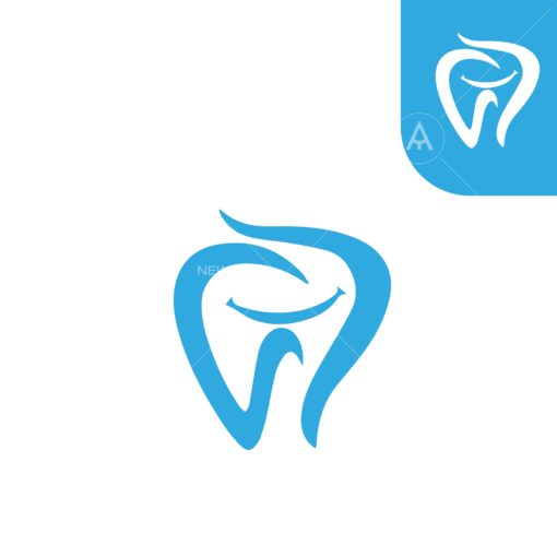 dental logo 14 logo icon vector
