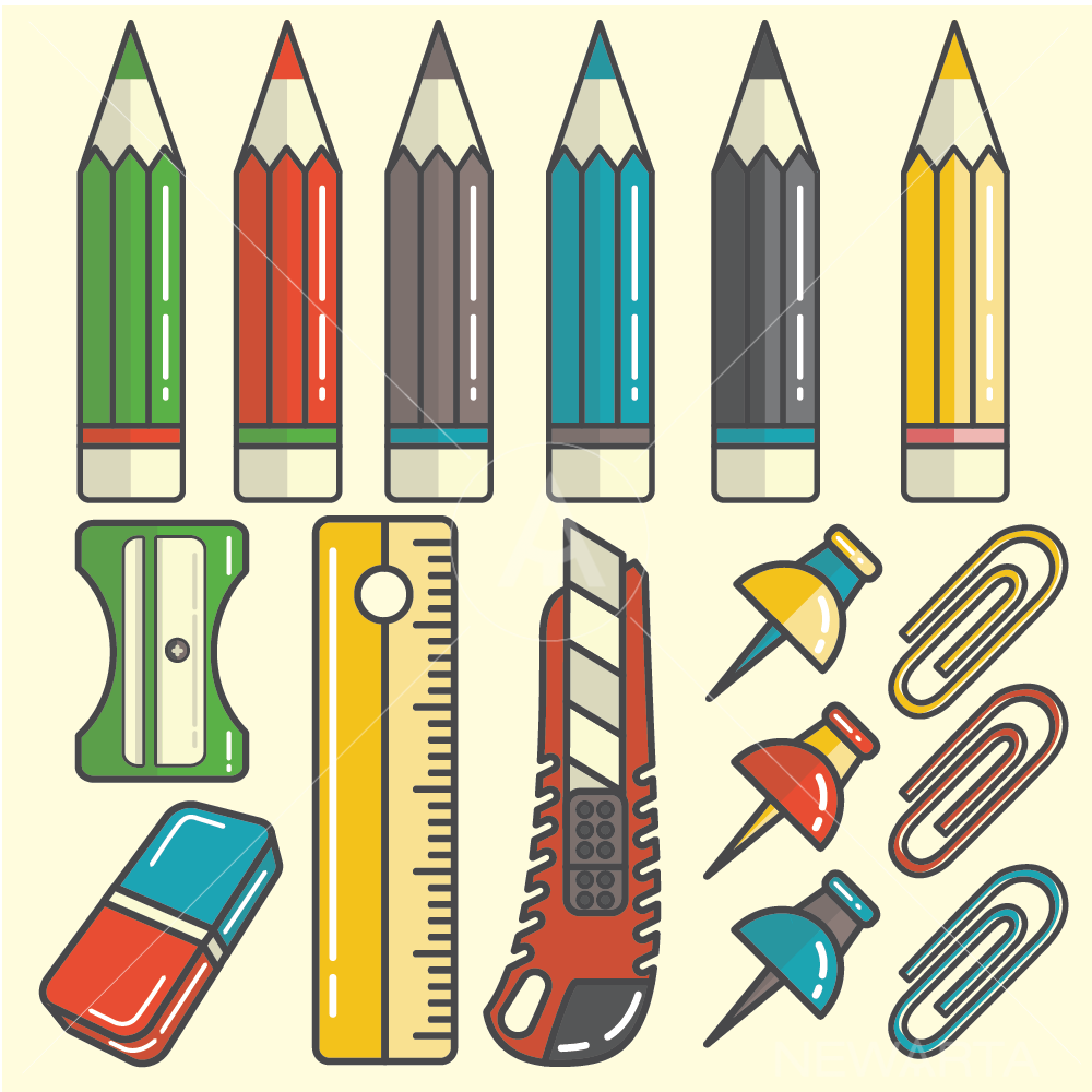 drawing tools vector newarta