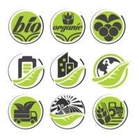 Organic icon set