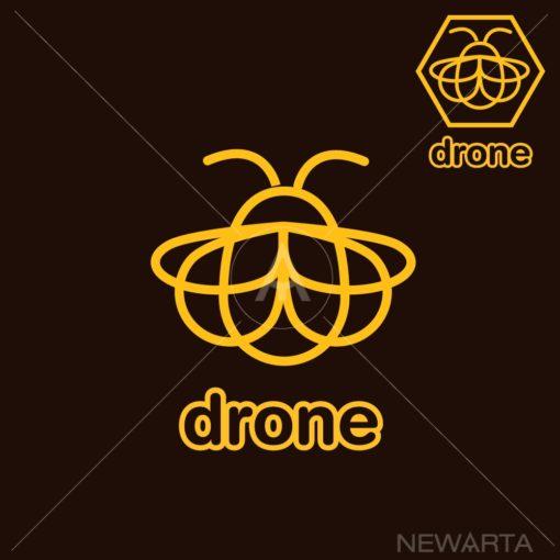 bee graphic design icon vector