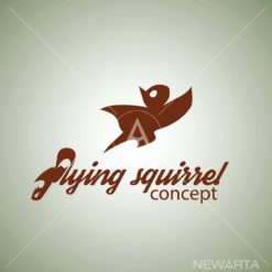flying squirrel logo