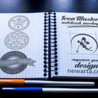 icon master notebook mockup 2