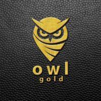 Gold Engraved Logo Mock-Up 2