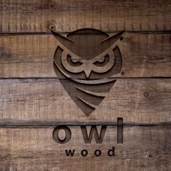 Wood Engraved Logo Mock-Up