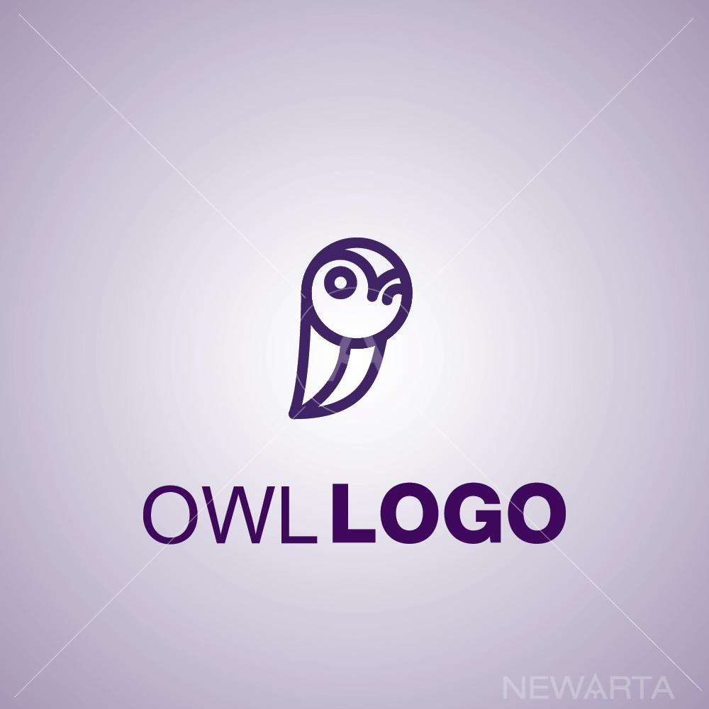 owl logo symbol mark icon brand