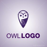 owl symbols icon mark