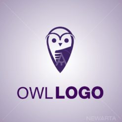 owl symbols icon mark