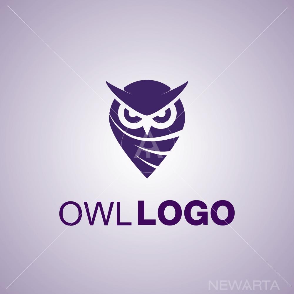 owl logo icon symbol mark brand