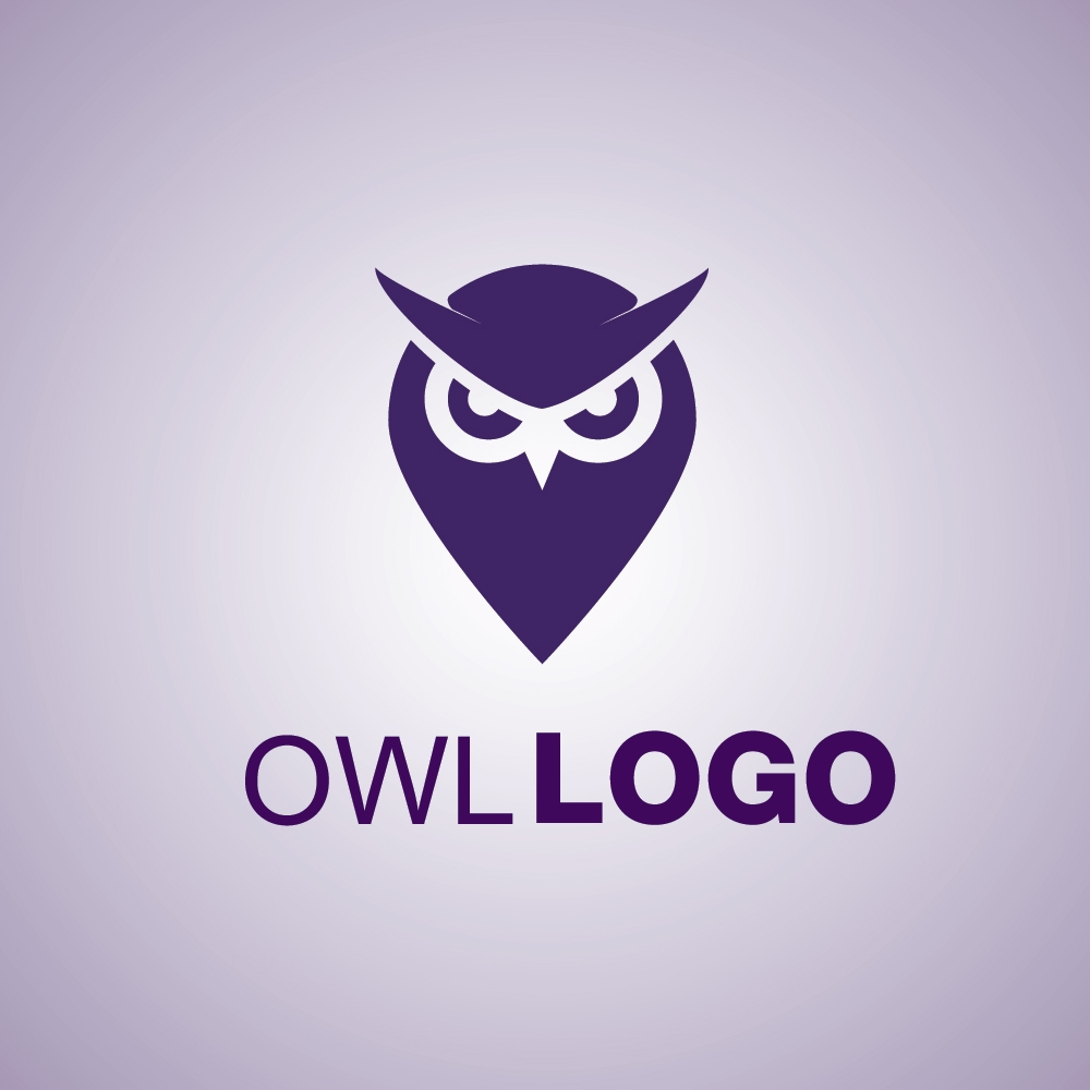 owl logo mark symbol icon free