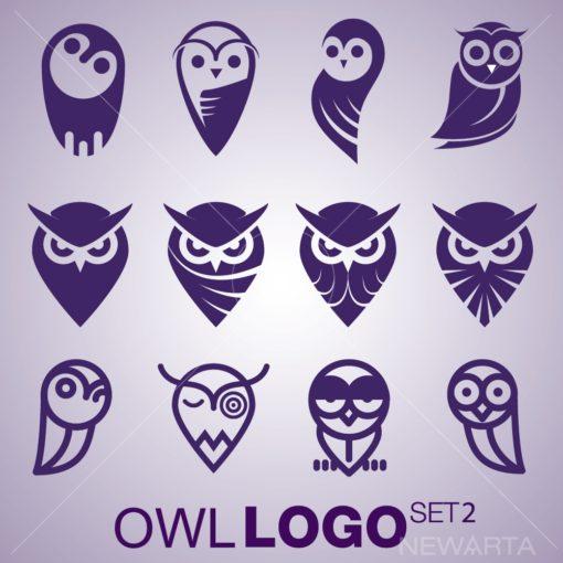 owl logo mark icon brand