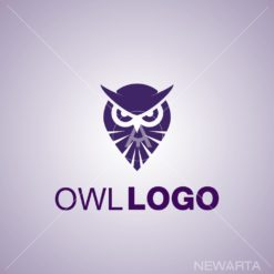 owl logo set 2 icon mark symbol mark