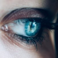 beautiful women eye vision