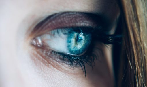 beautiful women eye vision
