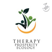 people logo therapy prosperity symbol