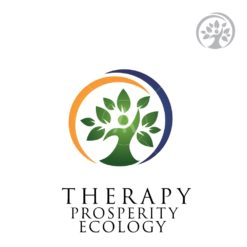 ecology people symbol logo