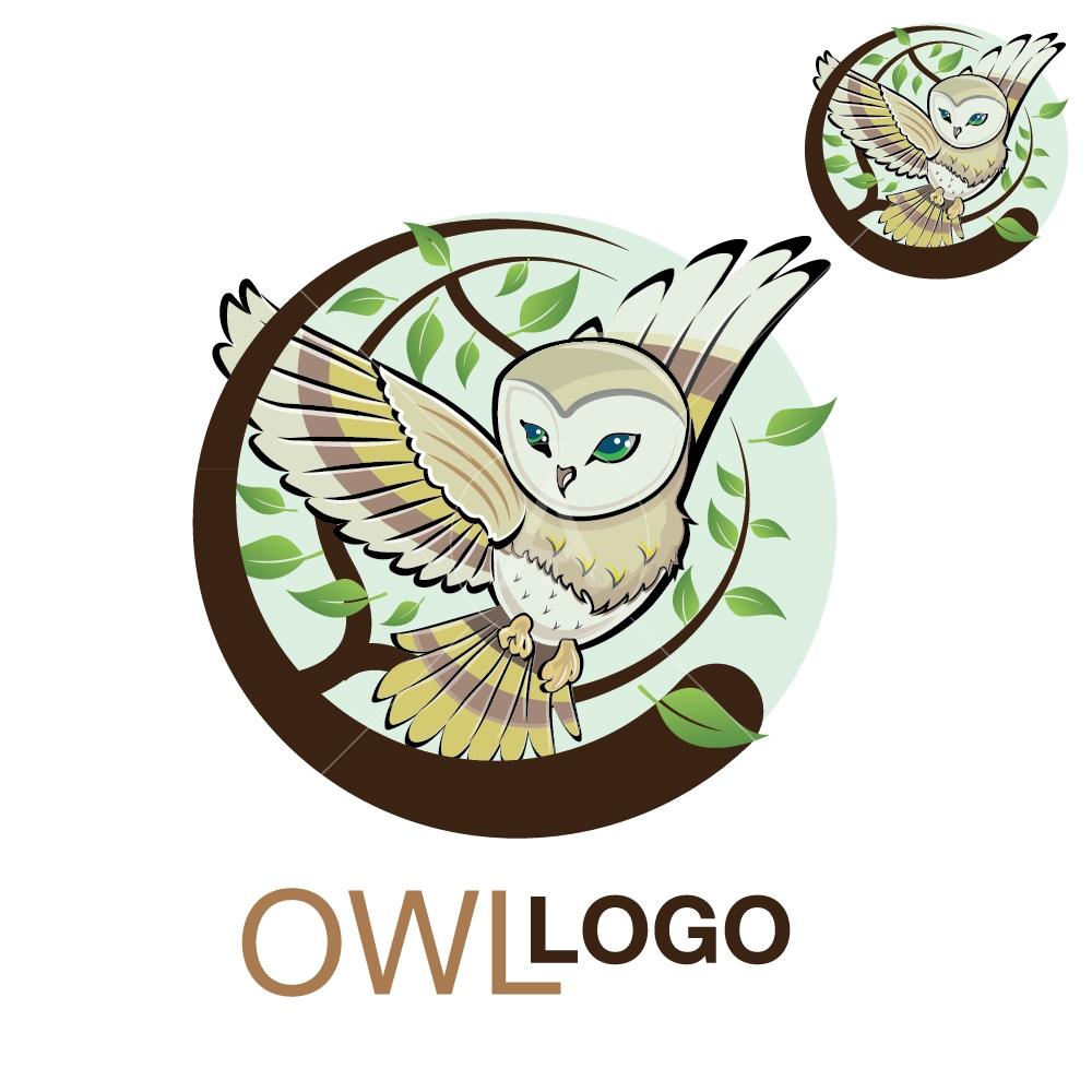 Owl logo set 3 - newarta