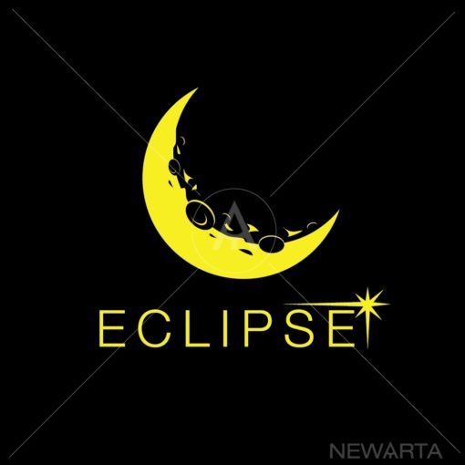 eclipse logo icon vector