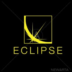 eclipse logo icon vector