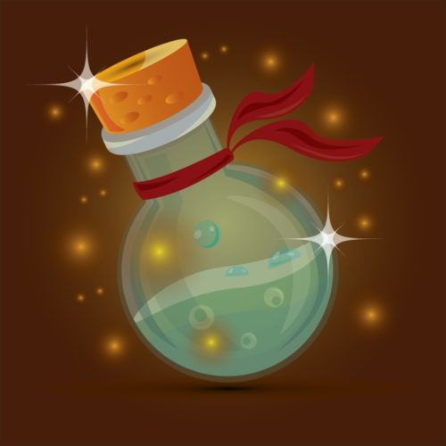 Magic bottle design