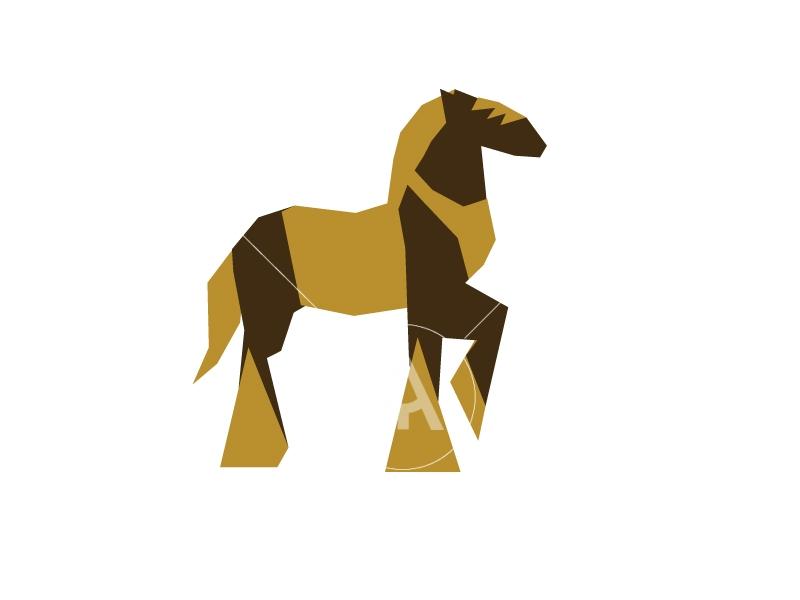Horse Origami Design