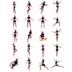20 poses women free set female high resolution poses gesture free download